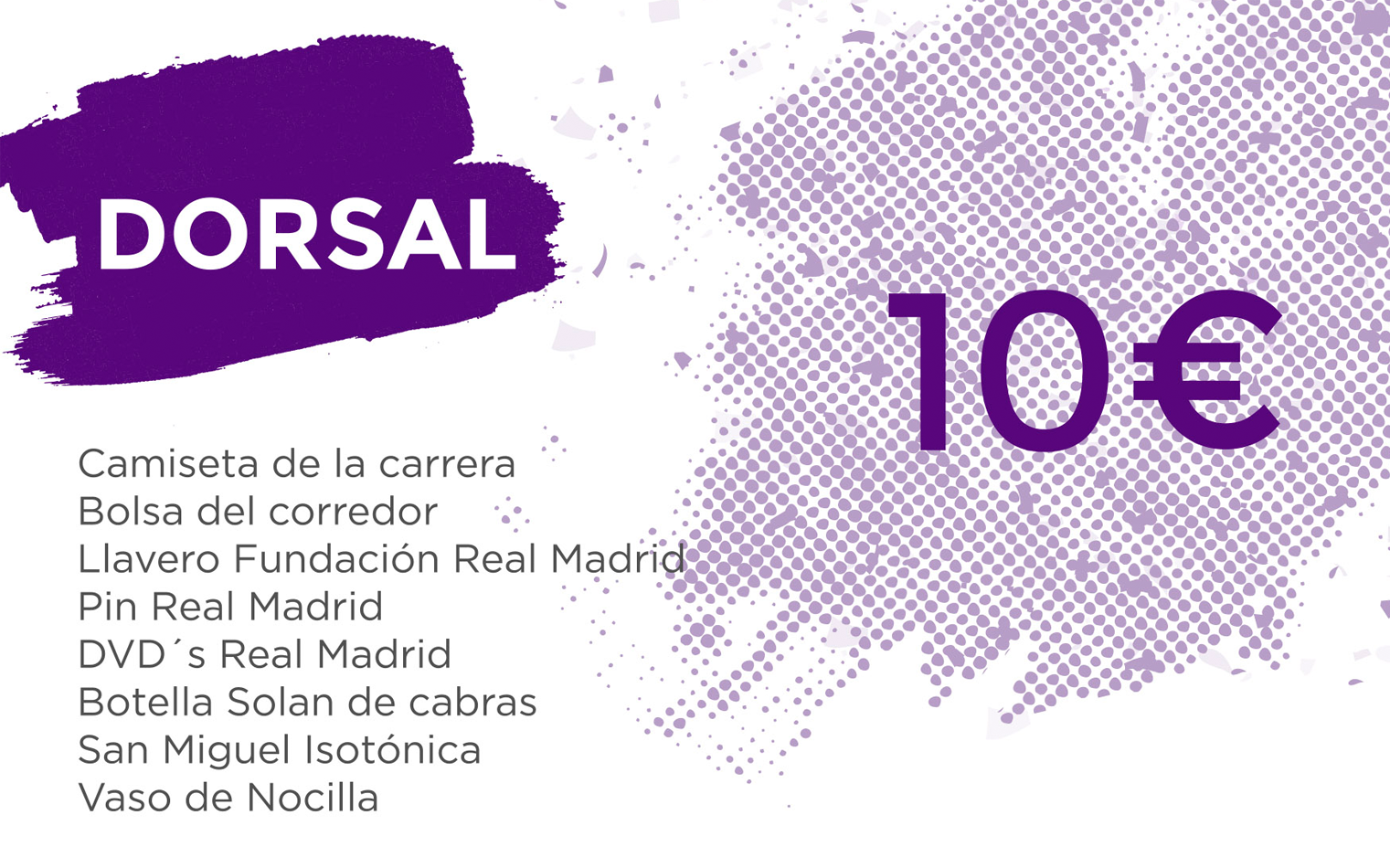 Running Real Madrid Dorsal Normal